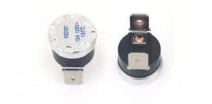 Wyłącznik termiczny bimetaliczny 10A/250V 80°C (zamknięty) typ 2