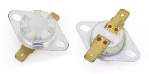 Wyłącznik termiczny bimetaliczny 10A/250V 75°C (zamknięty)