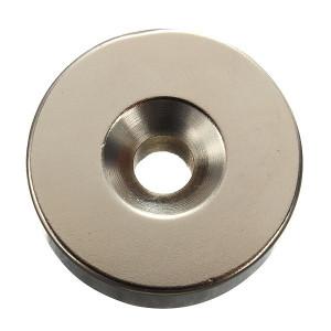 Magnes neodymowy pierścieniowy 24.5x10mm otwór 14/6mm
