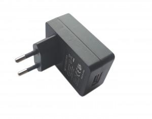 Zasilacz impulsowy 5V/2A USB czarny