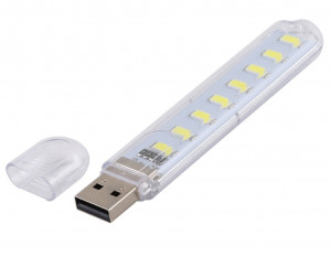 Lampka USB 8 LED