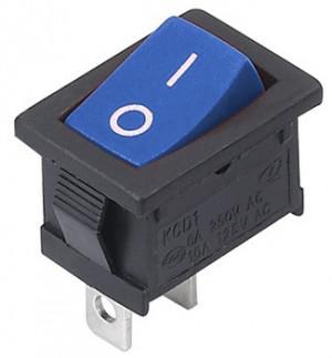 MRS101 A-C3BL 6A 250V pojedynczy niebieski ON-OFF