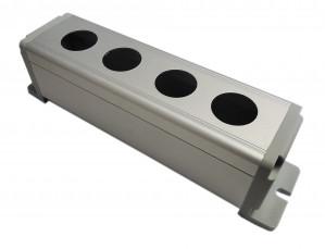 Obudowa aluminiowa do przełącznika wandaloodpornego 4x19mm