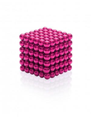 """Magnes neodymowy kulka średnica 5mm """"NEOCUBE"""" różowy"""