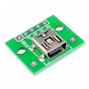 Gniazdo mini USB do płytki prototypowej Typ2