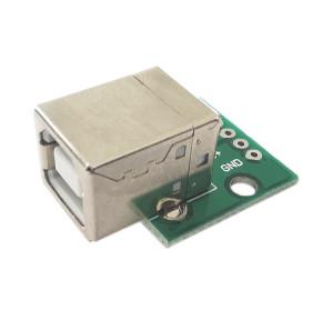 Gniazdo USB B do płytki prototyp. typ 2