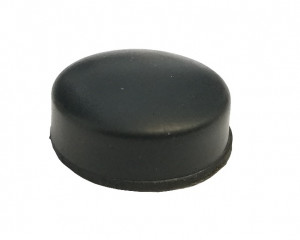 Nóżka gumowa okrągła 17mm, h=5.5mm, opak=100 szt
