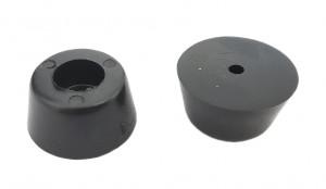 Nóżka gumowa średnica=26, h=13mm, opak=100 szt