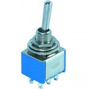 MTS202 3A 250V podwójny ON-ON (na kabel)