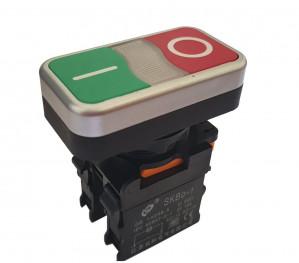 Przełącznik tablicowy SKP0-PR monostabilny 10A/380V NO/NC