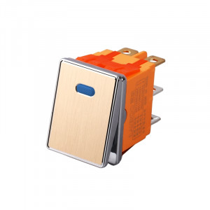 Przełącznik RS2822GB 16A 250V podwójny ON-ON niebieski