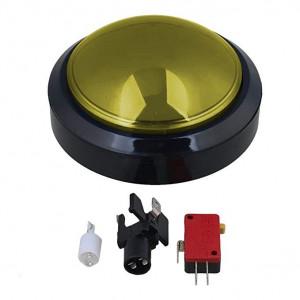 Przycisk BIG Push monostabilny 3A/250V żółty, podświetlenie 12V