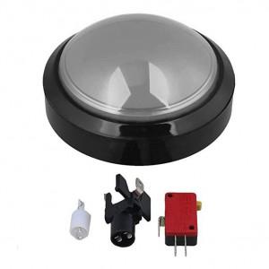 Przycisk BIG Push monostabilny 3A/250V biały, podświetlenie 12V