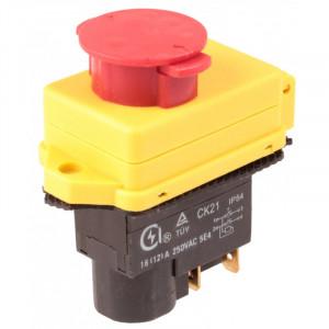 Wyłącznik elektromagnetyczny do wiertarki stołowej CK21 4pin 8A/250V z klapką