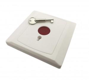 Przycisk alarmowy/antynapadowy z kluczykiem 28B