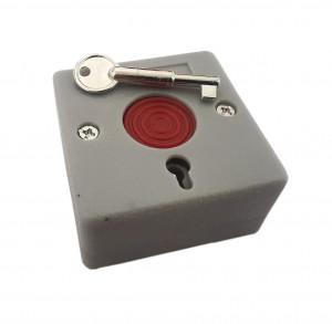 Przycisk alarmowy/antynapadowy z kluczykiem RZ-68