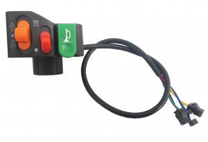 Przełącznik świateł, kierunkowskazów, klaksonu do roweru TYP 2