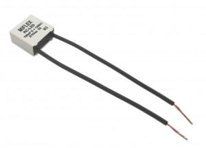 Filtr przeciwzakłóceniowy do LED 0.1uF 275V +120K Ohm