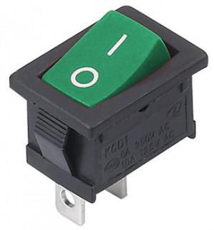 MRS101 A-C3G 6A 250V pojedynczy zielony ON-OFF
