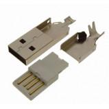 Wtyk USB typu A montowany na kabel