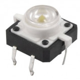 Tact Switch 12x12mm h=7mm białe podświetlenie