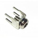 Konektor złącze śrubowe M4 do PCB proste opak=100 szt