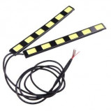 Lampa LED 12V Biała 2x6W 182mm