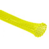 Oplot poliestrowy 4mm/8mm R=100m żółty neonowy