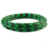 Oplot poliestrowy 4mm/8mm R=100m czarno-zielony