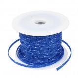 Oplot poliestrowy 4mm/8mm R=100m niebiesko-biały