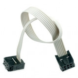 Kabel IDC 6 żeńsko-żeński l=30cm