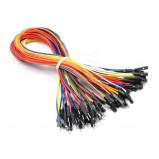 Zestaw 50szt kabli połączeniowych męsko-żeński 30cm