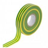 Taśma izolacyjna 19mm x 20m żółto-zielona TESA
