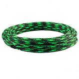 Oplot poliestrowy 8mm/16mm R=100m czarno-zielony
